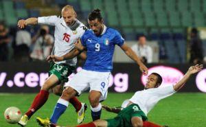 Футбол: Италия - България, 06.09.2013