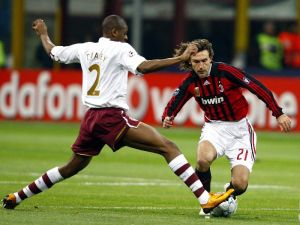 Шампионска лига, осминафинал Милан - Арселнал, 15.02.2012