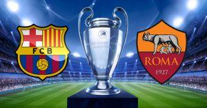 Шампионска лига, четвъртфинали: Барселона -Рома, 04.04.2018, пакетна цена от 627 Евро
