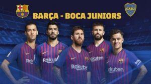 Барселона - Бока Хуниорс, 15.08.2018 - мач финал от турнира Joan Gamper Trophy