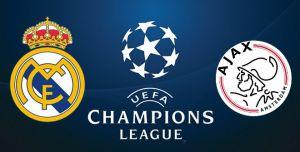 Шампионска лига: Реал Мадрид - Аякс, 5 март 2019, цена от 499 EUR