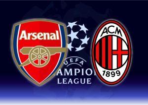 Шампионска лига, осминафинал Арсенал - Милан, 06.03.2012