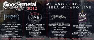 Господарите на Метъла - 21-24.06.2012 - Милано, Италия